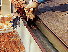 Gutter Cleaning Clogged Downspout Clean Gutters